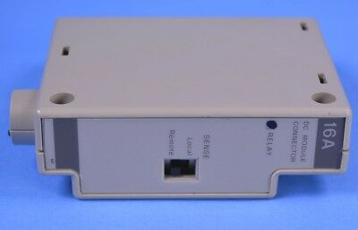 Hpagilent 5060-3386 Standard Output Connector For 66000a Modular Power Supply