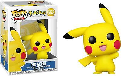 Pokemon #553 - Pikachu (Waving) - Funko Pop! Games (Brand New)
