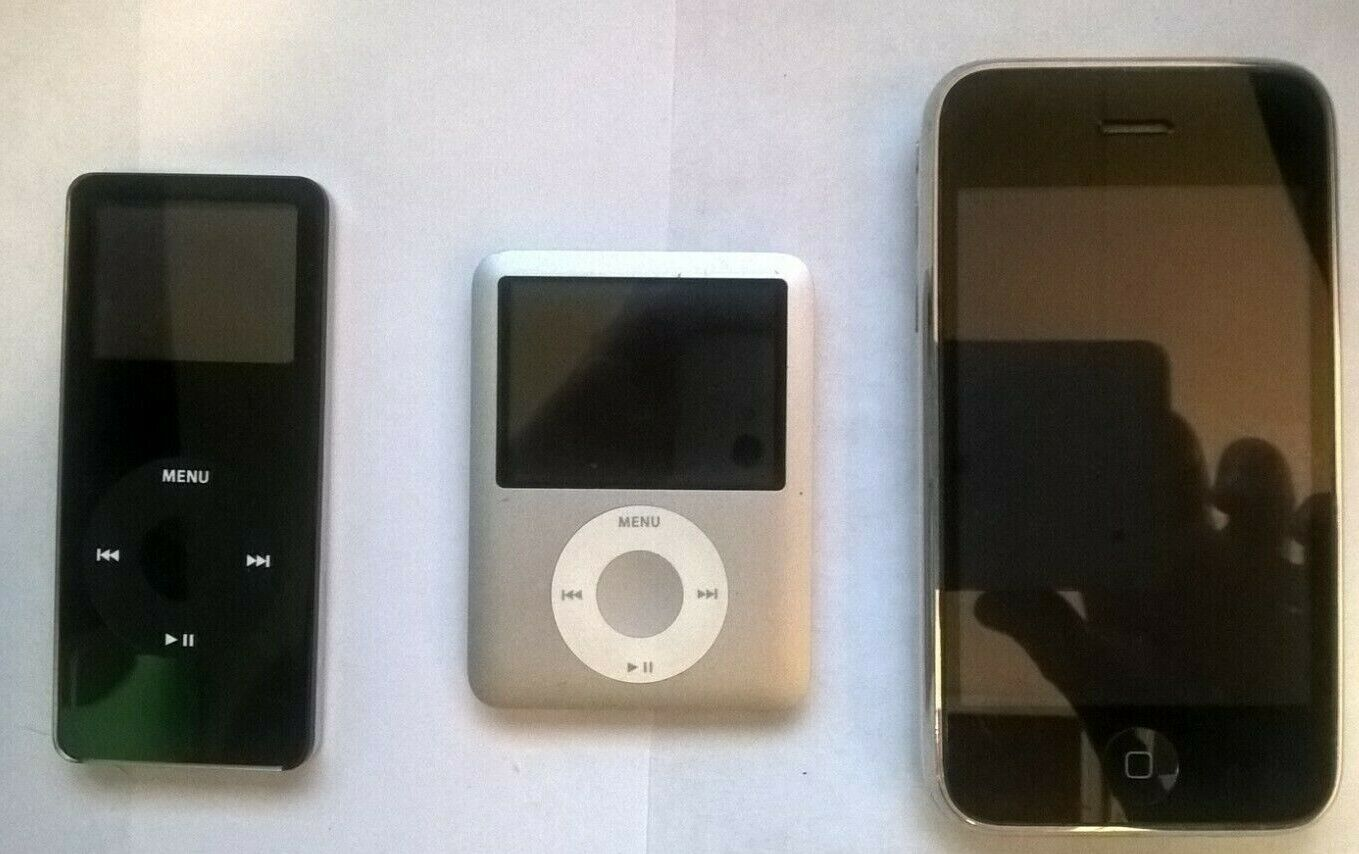 Ipod Iphone Lot 1GB 4GB 16GB Apple UNKNOWN CONDITION FOR PARTS ONLY