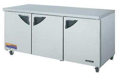 Turbo Air 72 Refrigerator Undercounter Cooler Tur-72sd Great Condition