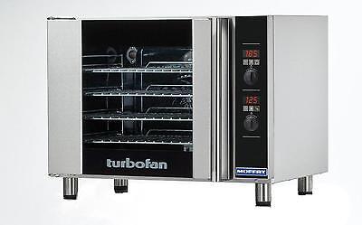Moffat E31D4 Turbofan Electric Convection Oven Half Size 4 P