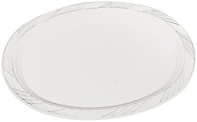 Party Serving Platters Oval Disposable Heavyweight Plastic Tableware Set - Clear - Plastic Party Platters