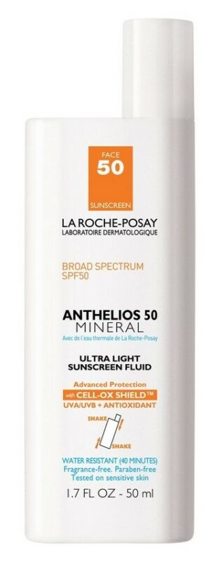 La Roche-Posay Anthelios 50 Mineral Ultra Light Sunscreen Fluid 50ml Exp.6/20+