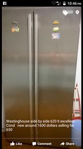 Westinghouse side by side fridge freezer Oakden Port Adelaide Area Preview