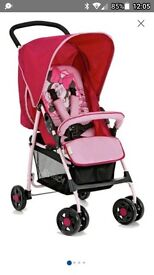 Hauck Minnie mouse pushchair