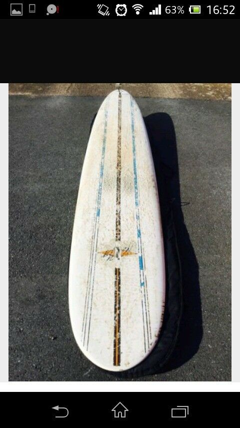 Bic nat young model 9.4 longboard with boardbag