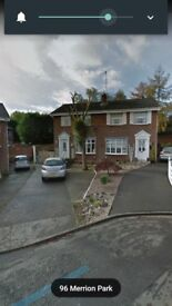 3 bed house to rent private estate £595