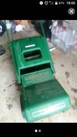 Qualcast xr30 mower with grass box