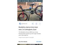 Muddyfox demon bmx rides good