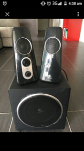 Logitech computer speakers and sub Christies Beach Morphett Vale Area Preview