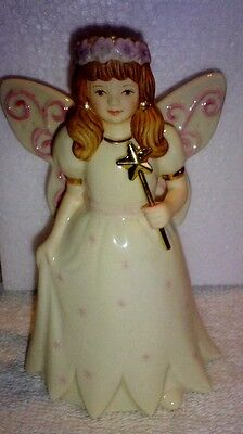 Lenox Girl in Fairy Costume Mint in Box 4.1 inches tall ](Girl Boxing Costume)