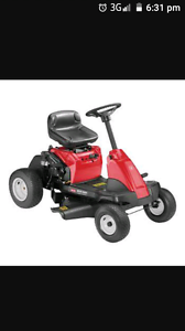 Wanted ride on mower Port Arthur Tasman Area Preview