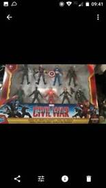 Boxed new marvel figures