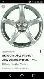Bk racing alloys an ats alloys