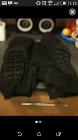 Padded bum armour small to medium brand new