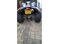 Quadzilla ~Quadbike ~ 250cc ~ Road Legal ~ 05 plate ~ 4 spare tyres ~
