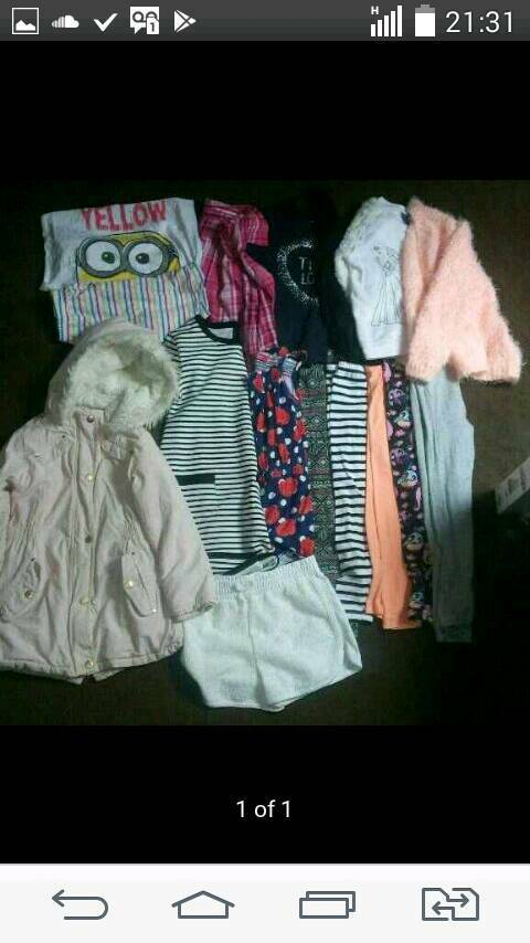 Age 6 to 7 girls clothes bundle