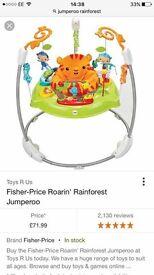 Fisher price roarin rainforest Jumoeroo