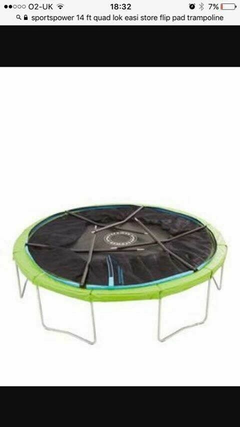 14ft sportspower trampoline