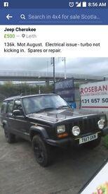 T reg Jeep Cherokee