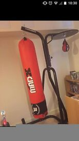 Boxing and speedball stand