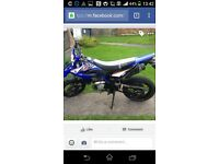 Wr 125 for sale or swaps