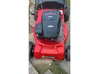 soverign lawnmower 44cm cut petrol