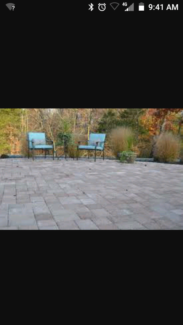 Wanted: Pavers wanted