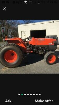 Great 2013 4x4 Kubota L4400-d Tractor 2100 Hr Add A Backhoe Loader No Mower