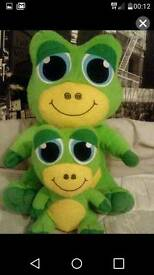 Family Frog Teddies