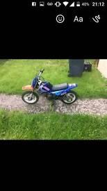 Dirt bike skyteam