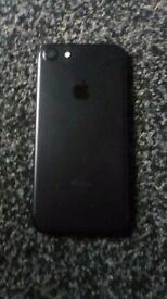 I phone 7 unlocked 128GB black