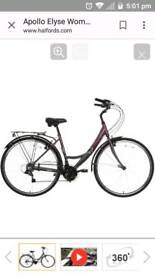 Apollo Elyse Womens Hybrid Bike -