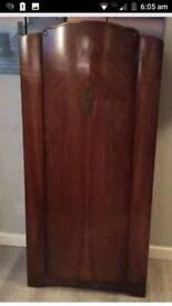 Small antique wardrobe