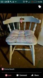 Stunning farmhouse dining chair