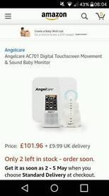 Angel Care Digital Movement & Sound Monitor