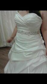 Mori Lee Wedding Dress And Belt