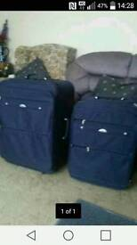 Samsonite wheeled cases pair