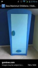 Blue kids wardrobe