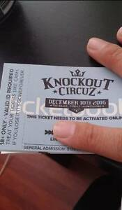 Knockout circus tickets Cabramatta West Fairfield Area Preview