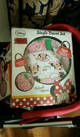 Minnie cover bed