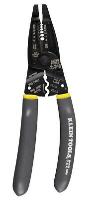 New Klein Tools 1009 Long-nose Wire Strippers Crimpers