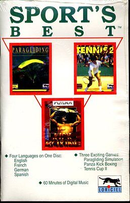 Sport's Best - Three Exciting Games (PC-CD, 1993) for DOS - NEW CD in