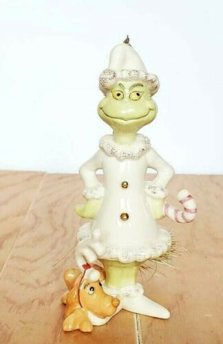 Lenox Dr Suess The Grinch A Very Grinchy Christmas Ornament Mint
