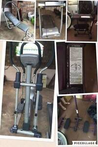 Assorted gym equipment Camillo Armadale Area Preview