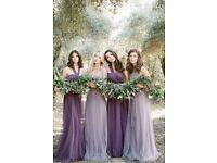 Jenny Yoo Designer Bridesmaids Dresses - lilac