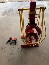 Tools Coil spring compressing air-hydraulic 1000kg All work and no leaks