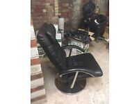 Used leather chair