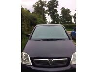 vauxhall meriva in very good condition petrol - low mileage