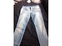 Killah skinny jeans 27x32 new with tags